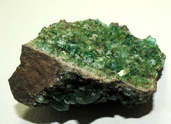 GREEN FLUORITE  WEARDALE