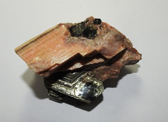 Biotite Mica in pegmatite