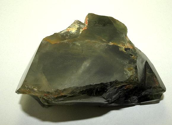 Green Chlorite in Quartz