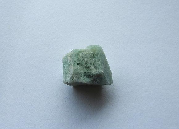 A natural Aquamarine crystal