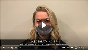mask breathing tips video screenshot