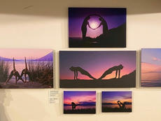Yoga Off and On the Wall Exhibit