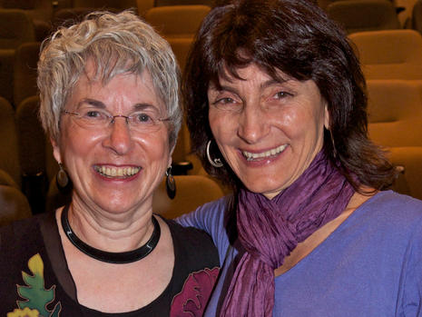 Nancy Chakrin and Laurie Ellis-Young
