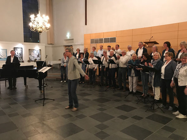 Optreden Grote Kerk met Bigband