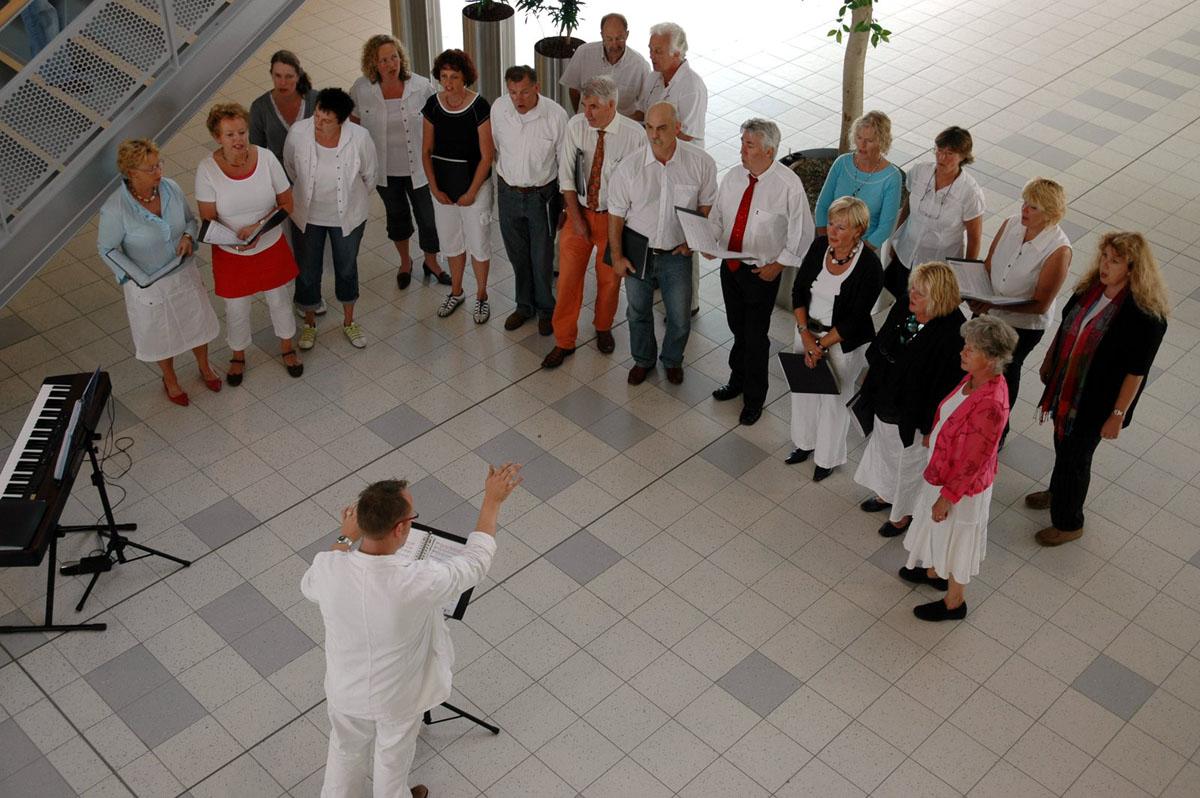 Optreden in het Scheperziekenhuis