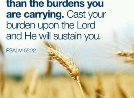 Cast Your Burden
