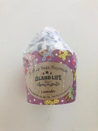 Lavender Bubbly Bath Cupcake (8oz)