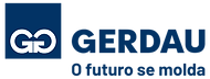 Logomarca Gerdau O futuro se molda horiz