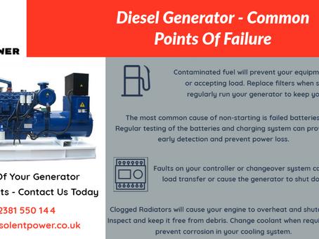 Generator Failure - Is It Preventable?