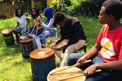 Drumming class - Kitovu