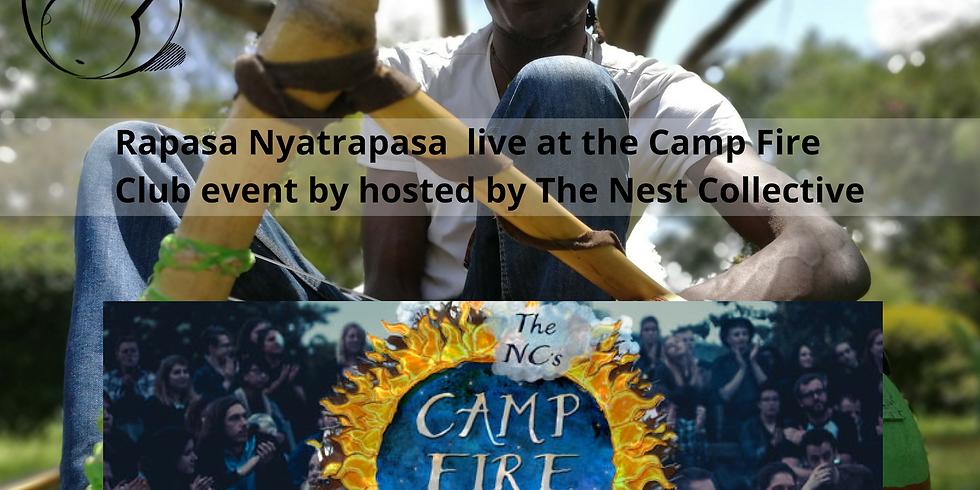 CANCELLED - Campfire Club: Rapasa Nyatrapasa   Melisa Yildrim