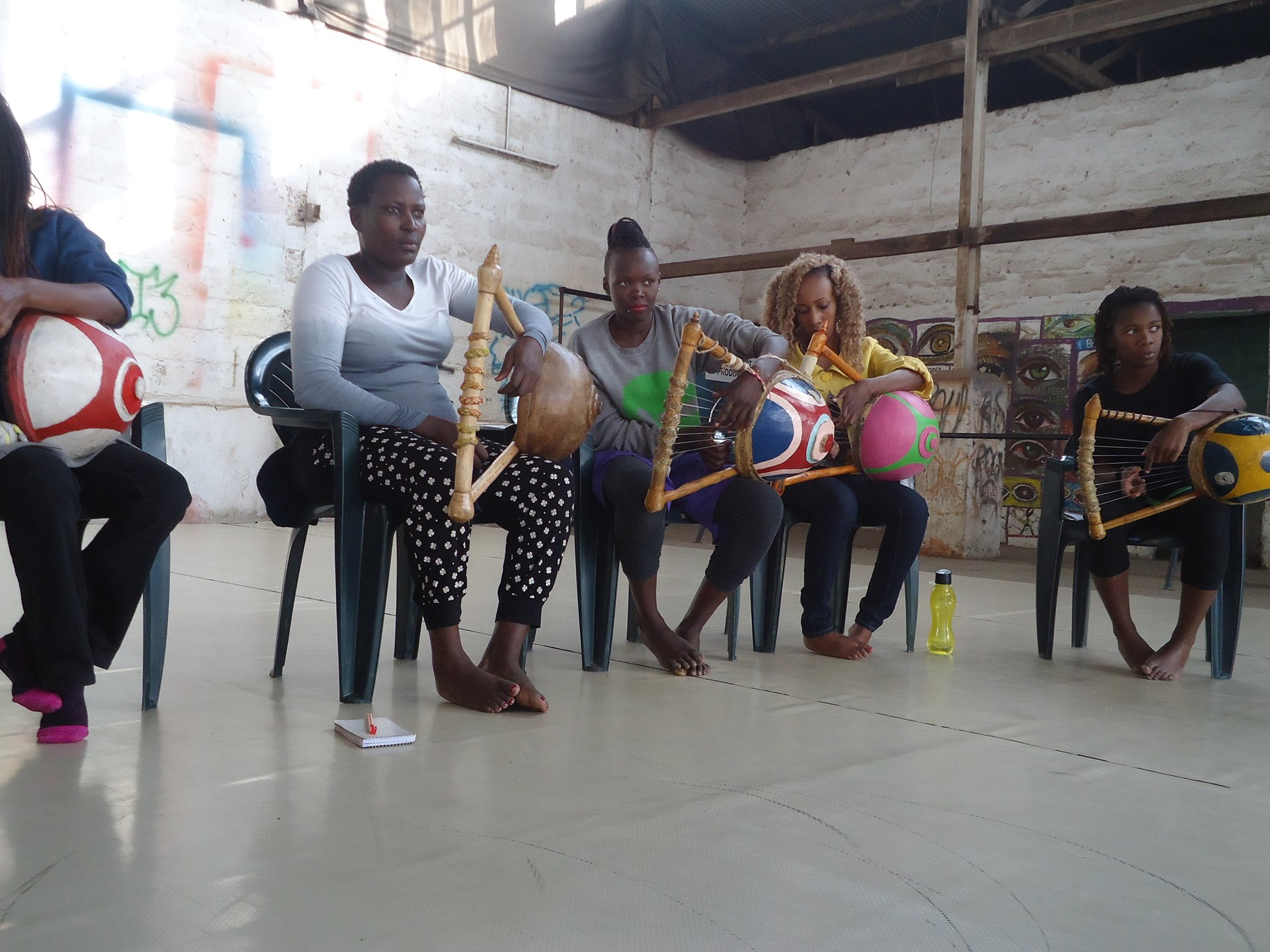 Nyatiti workshop-GoDown Arts Centre