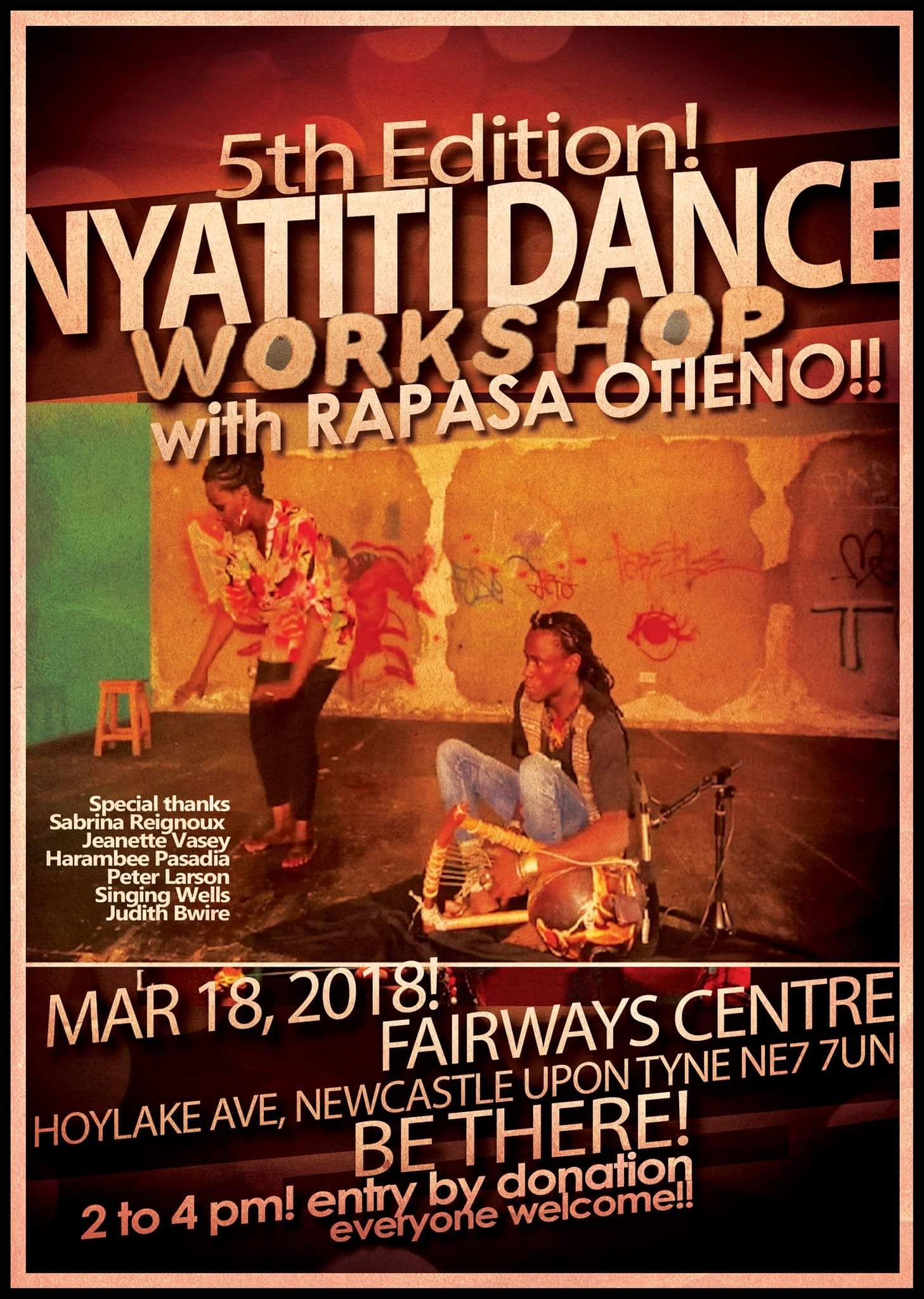 Nyatiti Dance Workshop - Newcastle