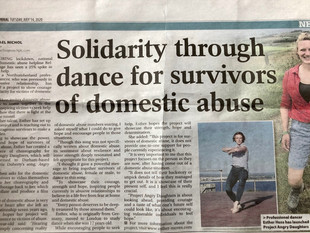 Angry Daughters - A creative project by survivors of domestic abuse