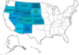 States where ACR has worked-one color sp