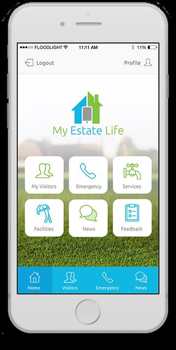 Resident mobile app