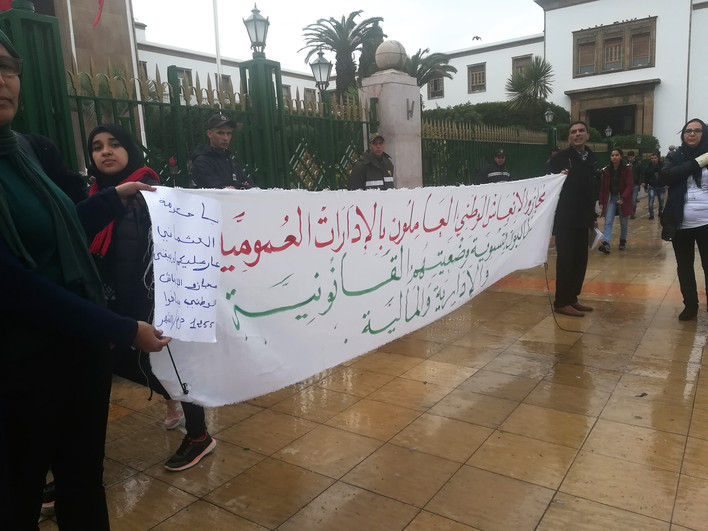 Wpływ mediów społecznościowych na protesty pokolenia Facebooka i Twittera w Maroku na fali Arabskiej