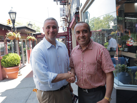 Austin Shafran endorse Nabaraj KC