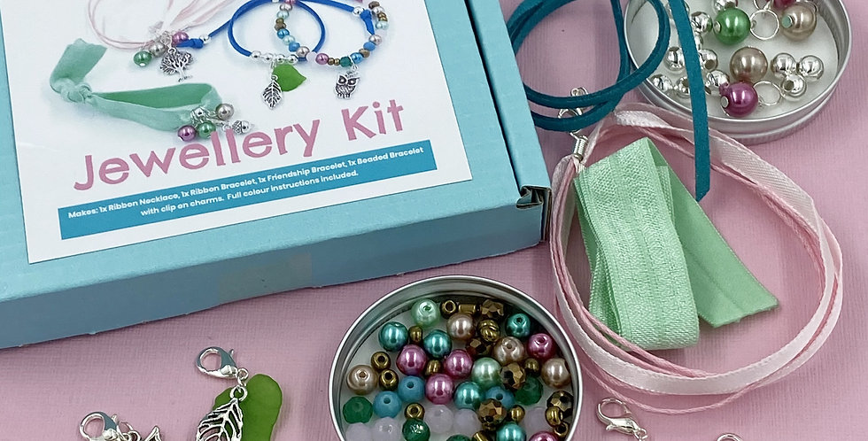 Woodland Jewellery Making Kit