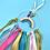 Rainbow Hoop Craft Kit