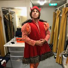 """Dom as """"Columbus"""" in original musical """"Mr. Prim"""""""