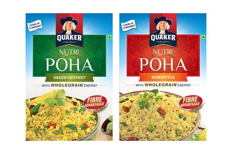 Quaker Oats Poha Packaging Photography