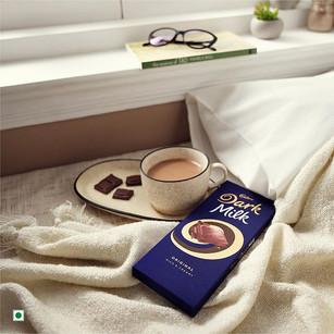 Cadbury Dark Milk Lifestyle Photography
