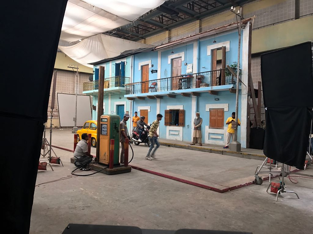 Behind the scenes of the TVS Starcity+ commercial - Director of Photography / Cinematographer Jignesh Jhaveri