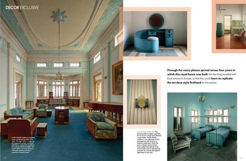 Elle Decor Huzoor Palace Interior Architecture Photography Mumbai India