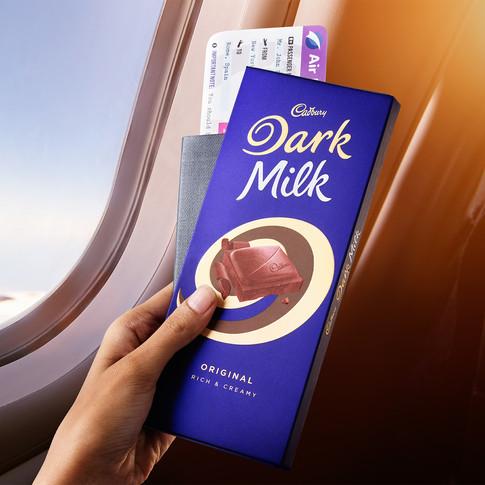 Cadbury Dark Milk Chocolate Photography by Jignesh Jhaveri