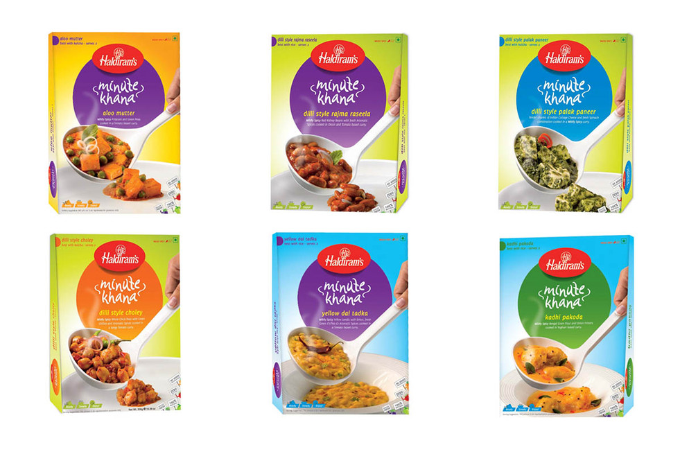 Haldirams Minute Khana Packaging Photography