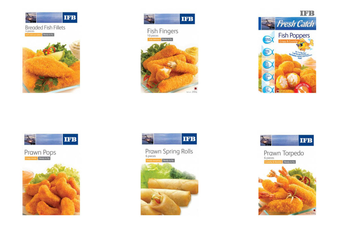 IFB Agro Seafood Packaging Photography