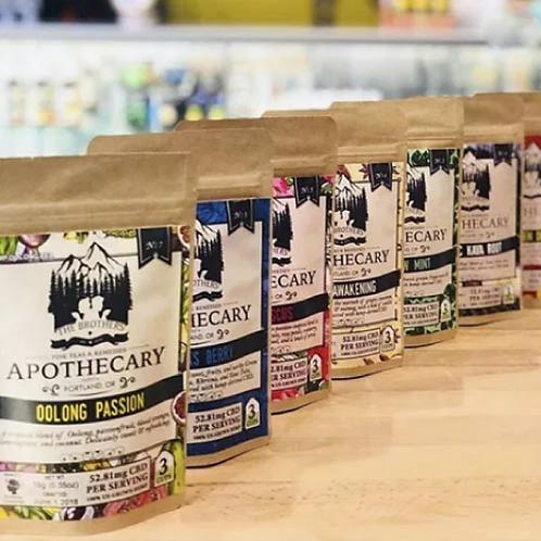 Apothecary CBD Tea Gift 8-Pack