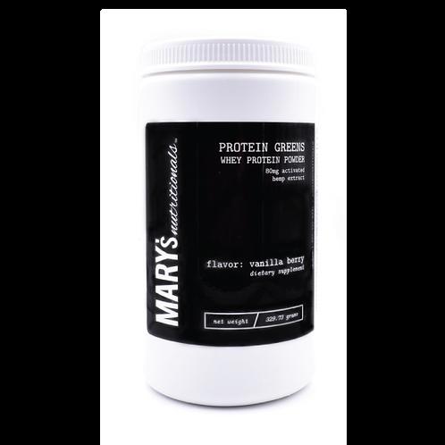 Mary's Protein Greens Powder - Vanilla Berry