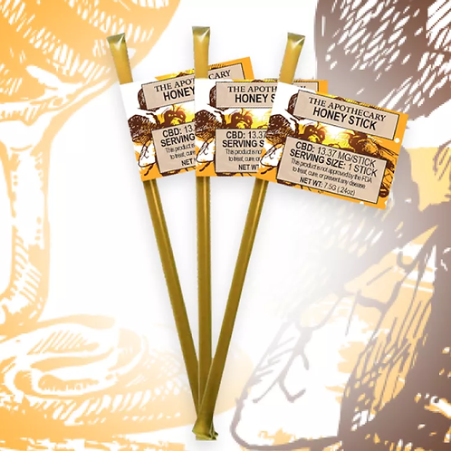 Apothecary CBD Honey Sticks