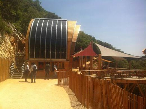 Lexan BiPV Panels - Grotte de Salamandre