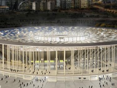 Estadio Nacional in Brasil