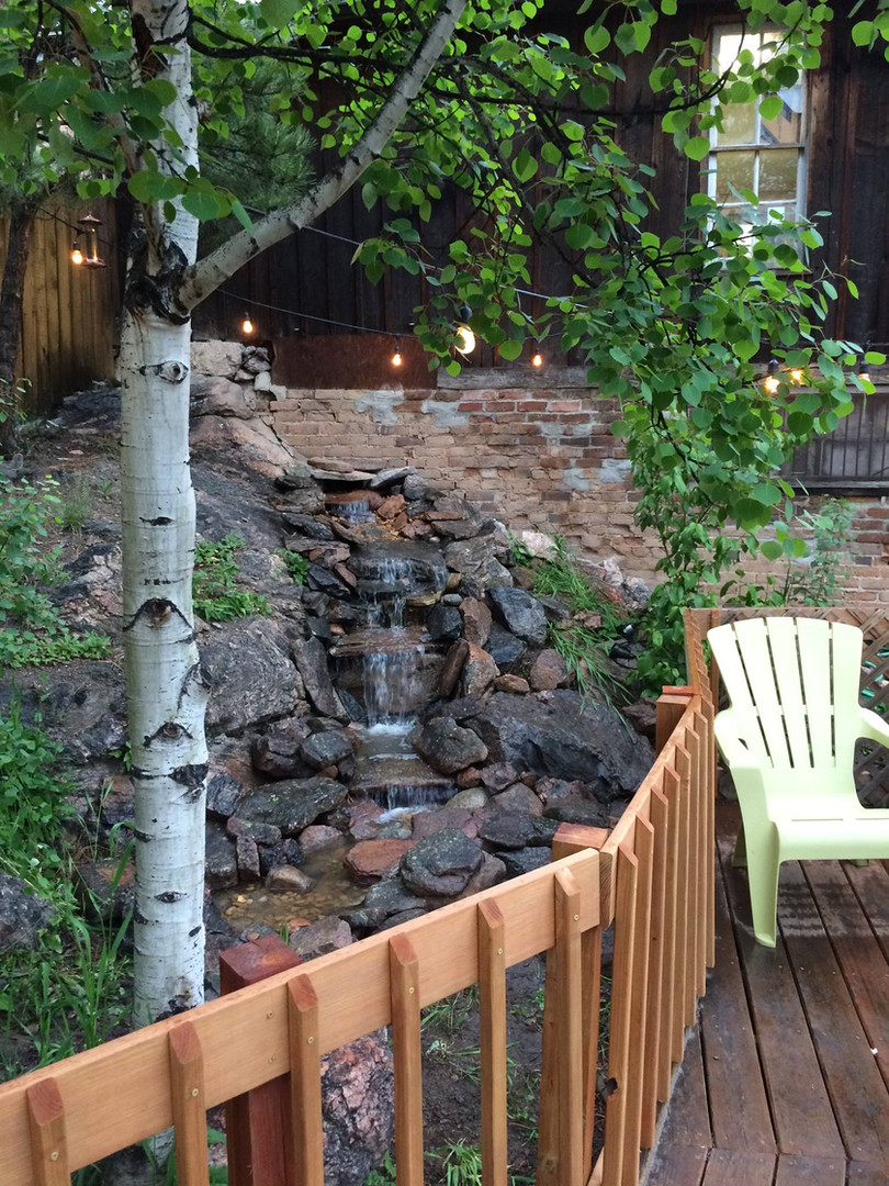 Revival Brews Water Feature