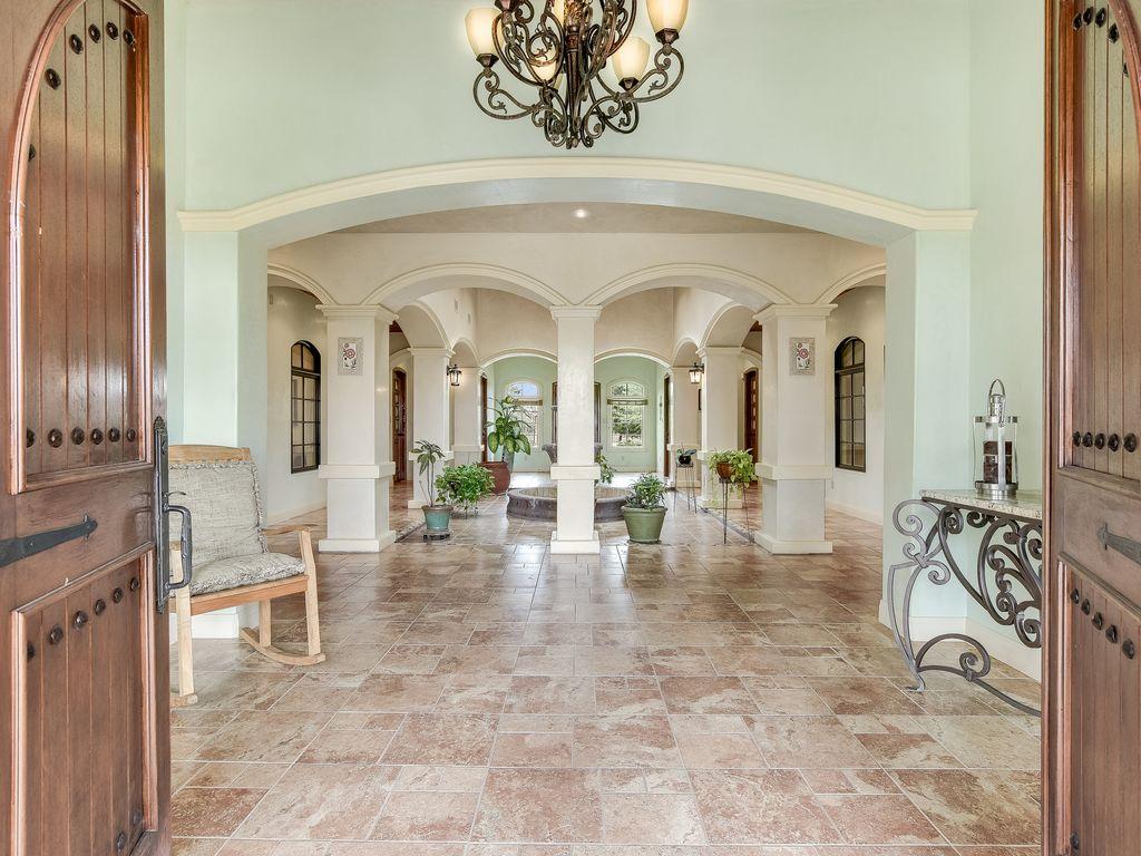 Main House Entry