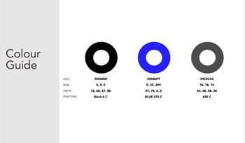 Colour Guide for Kell Ko Business