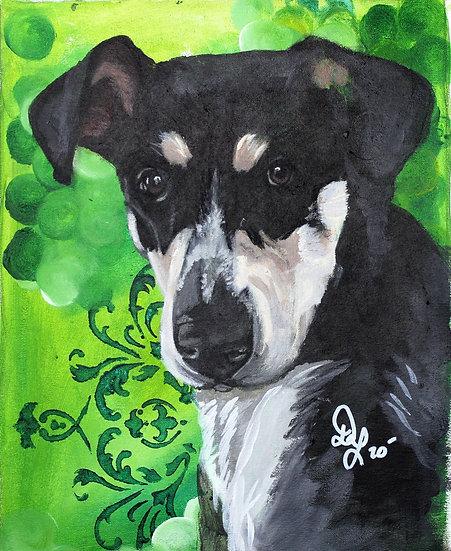 Mans Bestfriend Pup Portrait