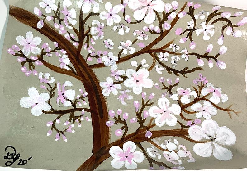 Large Mini Masterpiece Blossom Painting