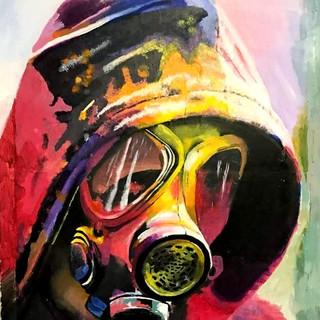 Acrylic smoke