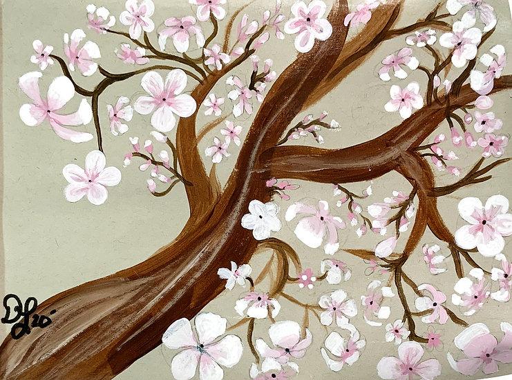 Mini Blossom Masterpiece Painting