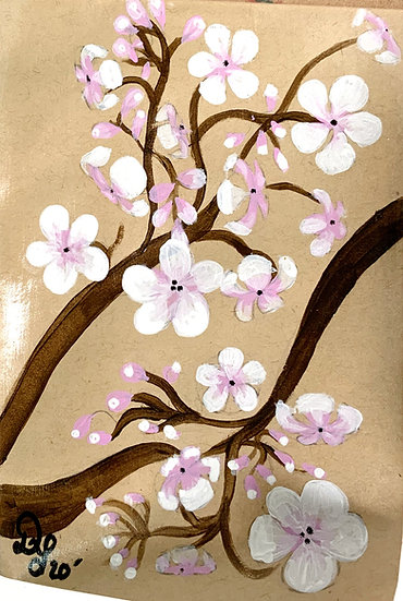Mini- Mini Masterpiece Blossom Painting