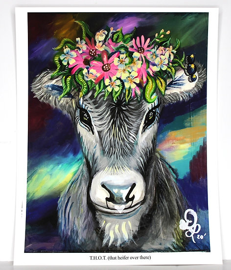 T.H.O.T. (That Heifer Over There) PRINT