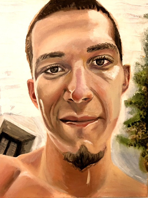 Skylar Acrylic Portrait
