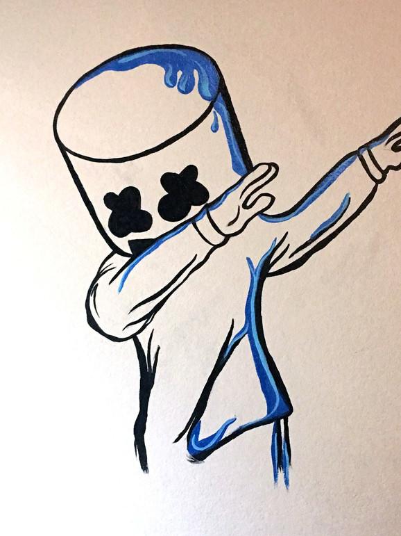Marshmellow Mural