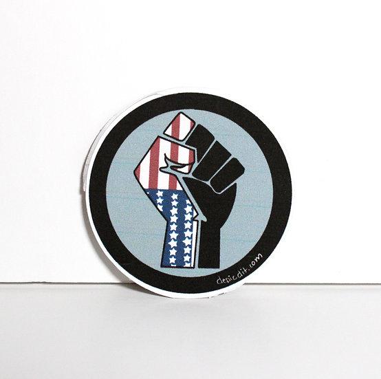 Single Black Lives/ Freedom is Freedom Sticker.