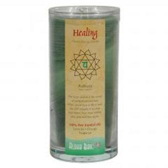 Chakra Jar Candle -Healing